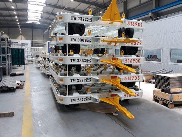 , Актива од Штип ги испрати првите колички за транспорт за FedEx и DHL
